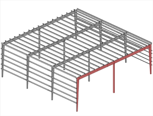 Single-Slope-Tapered-Column-Frames-Multispan